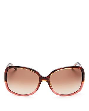 marc jacobs female marc jacobs color block square sunglasses 58mm