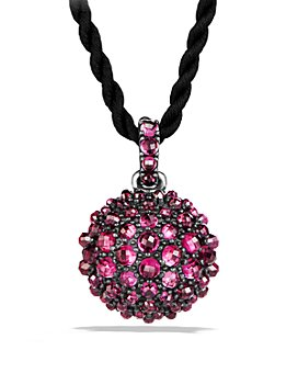 David Yurman - Osetra Pendant Necklace with Rhodalite Garnet