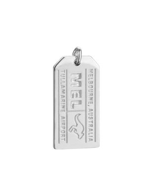 JET SET CANDY MEL MELBOURNE LUGGAGE TAG CHARM