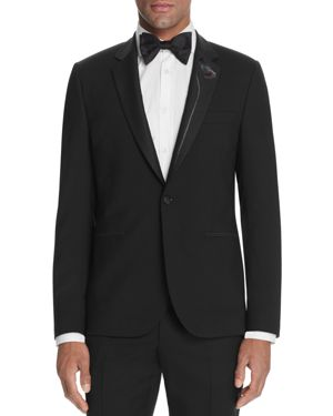 Paul Smith Flower Lapel Regular Fit Jacket