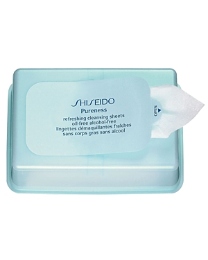 Shiseido Pureness Refreshing Cleansing Sheets Oil-Free/Alcohol-Free