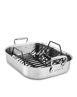 All-Clad - Gourmet Accessories Large Roaster with Rack