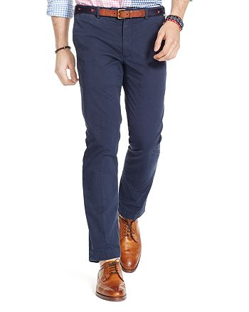 the cheapest separation shoes skate shoes Polo Ralph Lauren Stretch Slim Fit Chino Pants   Bloomingdale's