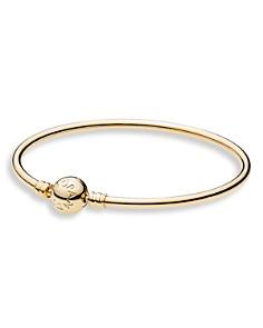PANDORA Bangle - 14K Gold, Moments Collection - Bloomingdale's_0