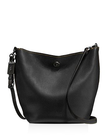 COACH - Duffle Shoulder Bag in Glovetanned Pebble Leather