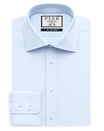 Thomas Pink - Charles Plain Dress Shirt - Bloomingdale's Regular Fit