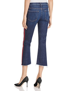 MOTHER - Insider Step Crop Fray Jeans in Speed Racer