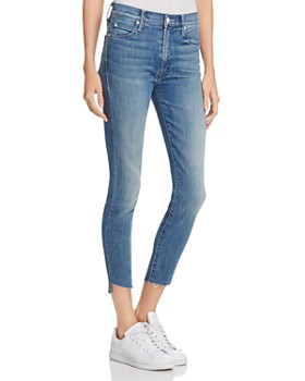 MOTHER - Stunner Step Ankle Fray Jeans in Good Girls Do