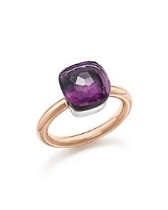 Pomellato - Nudo Classic Gemstone Ring in 18K Rose & White Gold