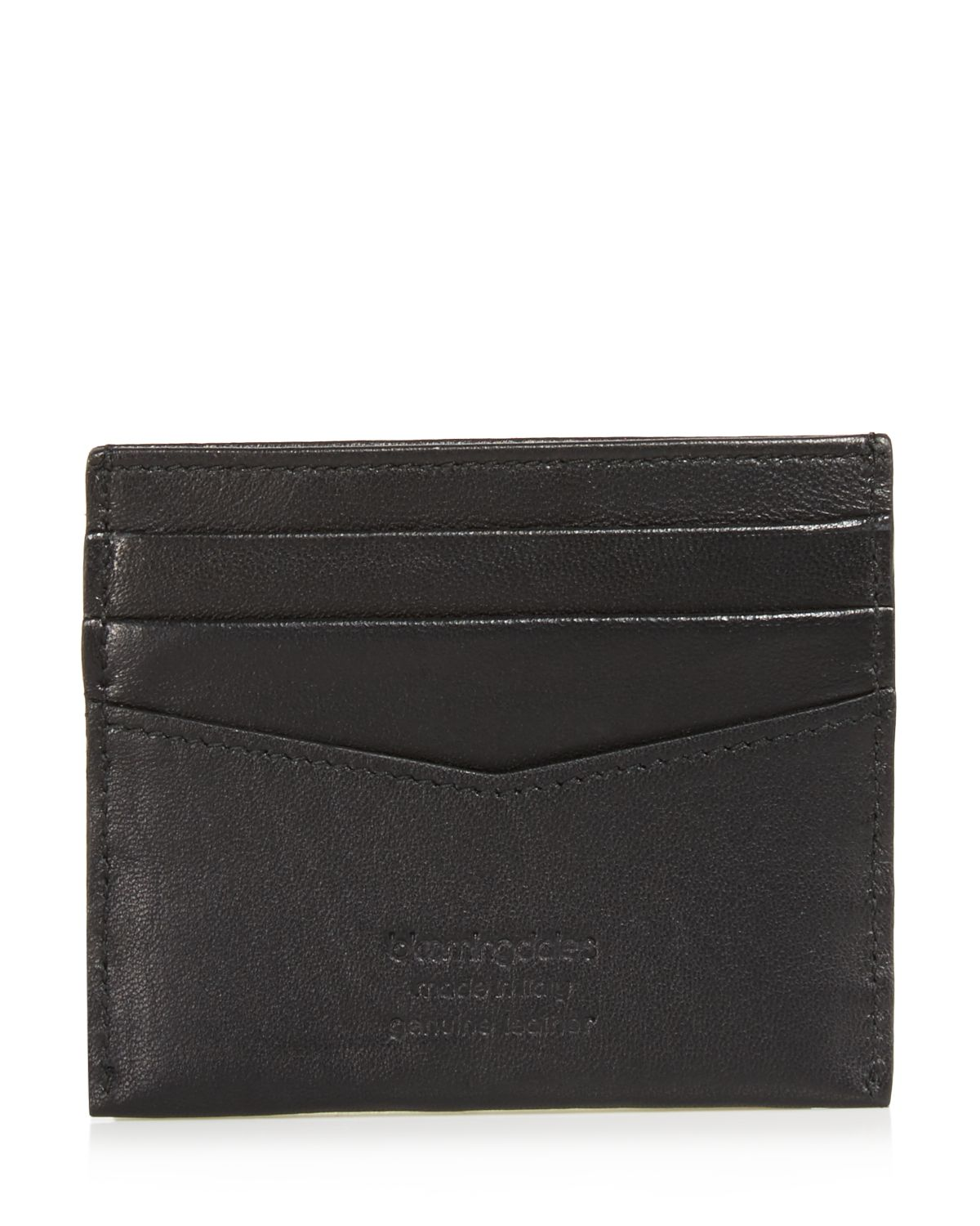 Smooth Leather Card Case   100 Percents Exclusive by The Men's Store At Bloomingdale's