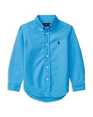 Ralph Lauren Childrenswear Boys Oxford Button Down Shirt  Little Kid