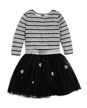 Pippa & Julie Girls' Stars And Stripes Top & Skirt Set- Little Kid