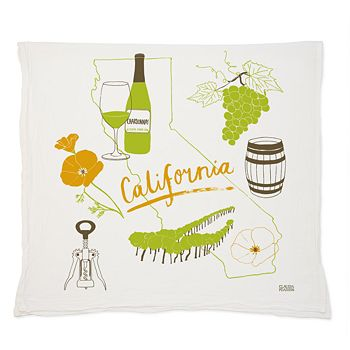Claudia Pearson - California Wine Towel