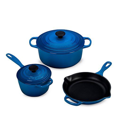 Le Creuset - 5-Piece Cast Iron Cookware Set