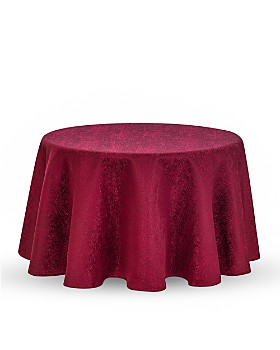 """Waterford - Moonscape Tablecloth, 90"""" Round"""