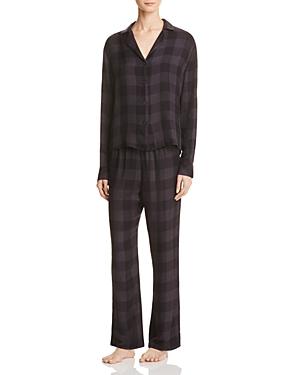 Rails Plaid Shirt and Pants Pajama Set