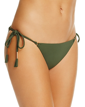 Robin Piccone Ava Braided Side Tie Bikini Bottom