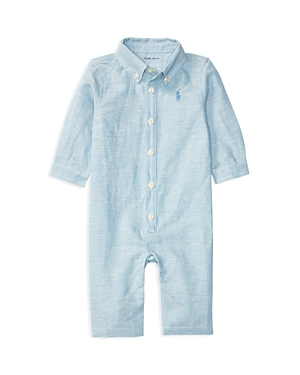 Ralph Lauren Childrenswear Boys' Chambray Coverall - Baby