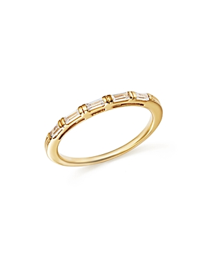 Diamond Baguette Stacking Band in 14K Yellow Gold, .25 ct. t.w. - 100% Exclusive