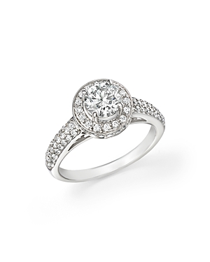 Click here for Diamond Engagement Ring in 14K White Gold  1.70 ct... prices