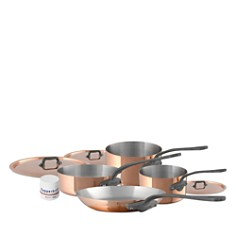 Mauviel - M'150c2 Copper 7-Piece Cookware Set