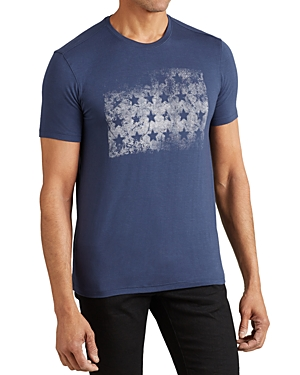 John Varvatos Star Usa Block of Stars Graphic Tee