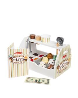 Melissa & Doug - Scoop & Serve Ice Cream Counter Play Set - Ages 3+