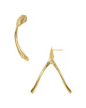 Alexandra Koumba Wishbone Drop Earrings