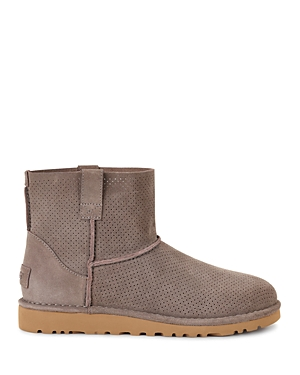 Ugg Classic Unlined Mini Perforated Booties