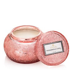 Voluspa Japonica Persimmon & Copal Embossed Glass Chawan Bowl Candle - Bloomingdale's_0