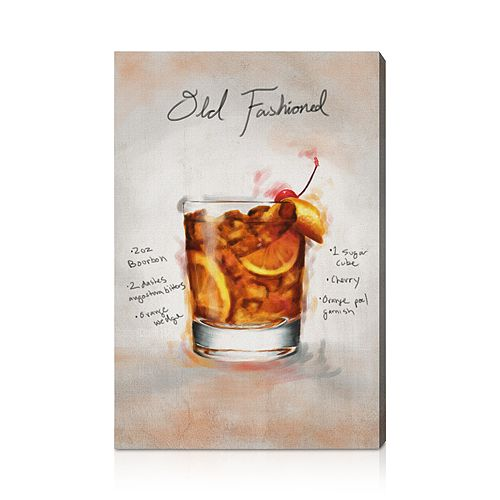 """Oliver Gal - Old Fashioned Wall Art, 16"""" x 24"""""""