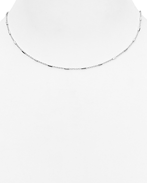 Argento Vivo Mini Bar Station Necklace, 16