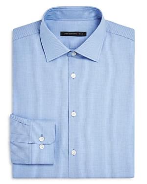 John Varvatos Star Usa Thin Stripe Regular Fit Dress Shirt