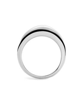 Shinola - Sterling Silver Crescent Dome Ring