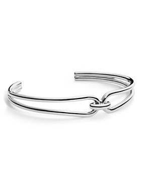 Shinola - Sterling Silver Lug Open Cuff Bracelet