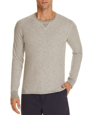Billy Reid Dylan Microstripe Long Sleeve Tee