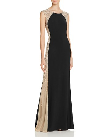 $Avery G Bead-Embellished Gown - Bloomingdale's