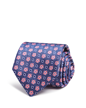Canali Floral Square Neat Classic Tie