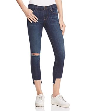 J Brand Crop Jeans in Disguise Destruct