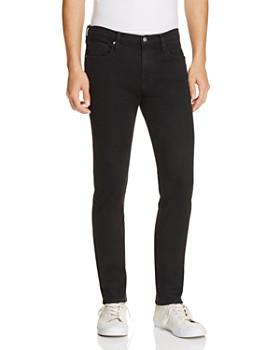 FRAME - L'Homme Skinny Fit Jeans in Noir