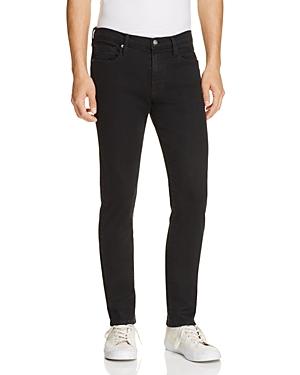 Frame L'Homme Skinny Fit Jeans in Noir