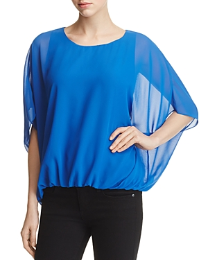 Vince Camuto Batwing Bubble Hem Blouse - 100% Exclusive