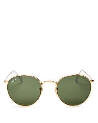 $Ray-Ban Round Sunglasses, 53mm - Bloomingdale's