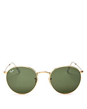 Ray-Ban Unisex Icons Round Sunglasses, 53mm