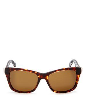 kate spade new york Jenae Polarized Square Sunglasses, 53mm
