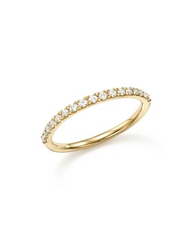 Bloomingdale's - Diamond Micro-Pave Stack Ring in 14K Yellow Gold, .25 ct. t.w. - 100% Exclusive