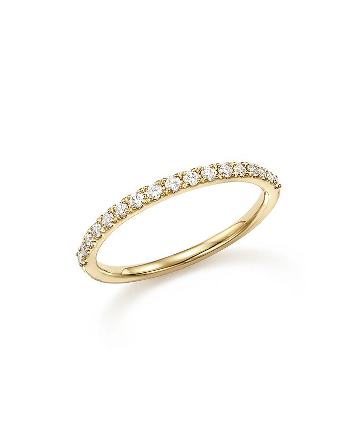 Bloomingdale's - Diamond Micro-Pave Stack Ring in 14K Yellow Gold, .25 ct. t.w.- 100% Exclusive