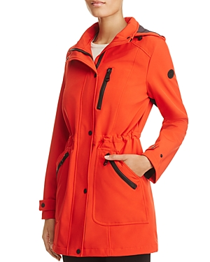 Calvin Klein Hooded Raincoat