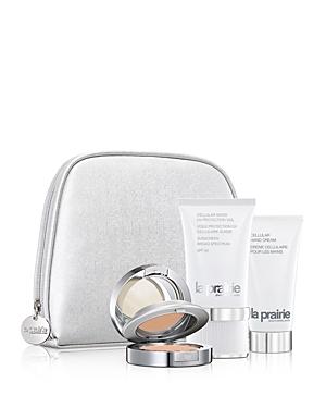 la prairie female la prairie daily handbag essentials gift set