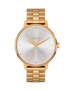 'The Kensington' Bracelet Watch, 37Mm, Gold/ White